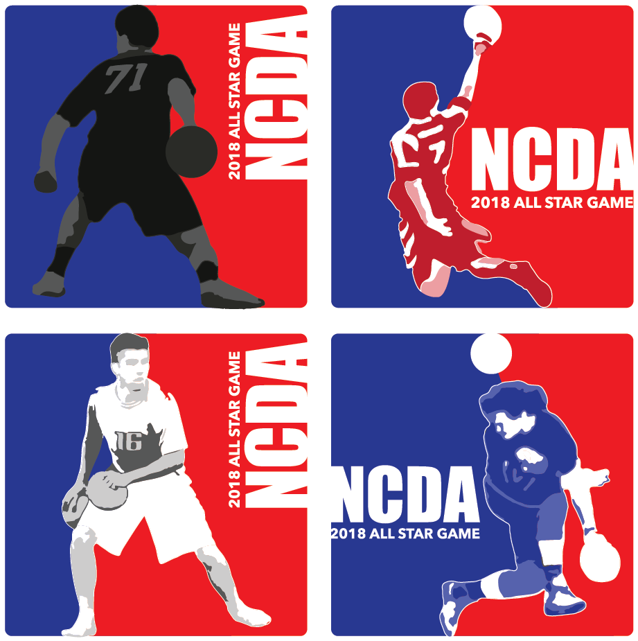 2018 All Star Game Player Logos