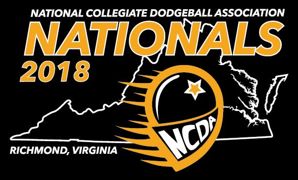 Nationals 2018 Logo + Shirt design