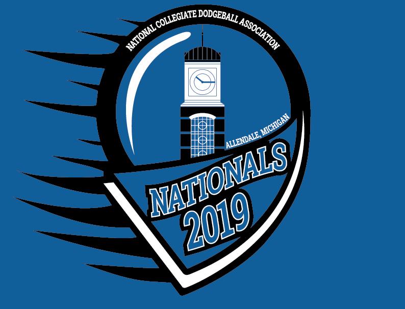 Nationals 2019 Logo + Shirt design
