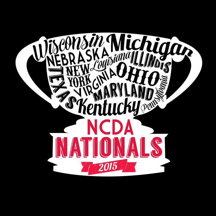 Nationals 2015 Logo + Shirt design
